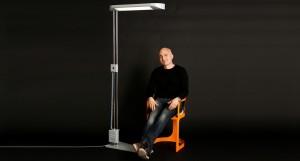 lampadaire design le designer